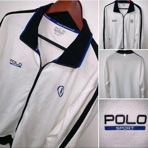 Polo Sport Performance Long Sleeve Zip Up Jacket